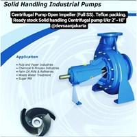 Solid Handling Centrifugal Pump (Open Impeller)
