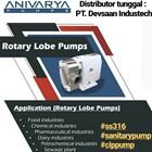 Pompa Rotary Lobe SS-316 1