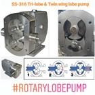 Pompa Rotary Lobe SS-316 2