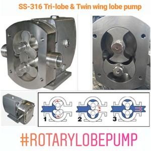 Dari Lobe Pump Rotary SS-316 1