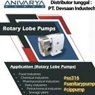 Rotary Lobe Pump SS-316 1