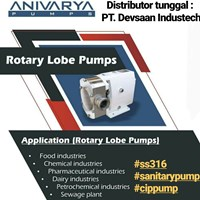Rotary Lobe Pump SS-316