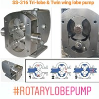Sell Sanitary Lobe Pump SS-316 2