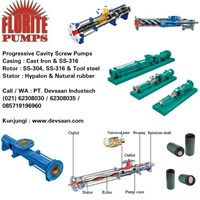 Pompa Screw - SS304 / SS316 / Tool Steel