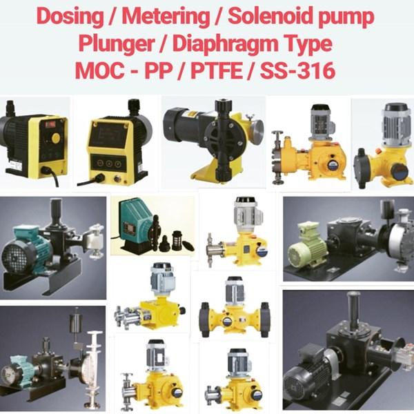Dosing Pump - PP/PVC/PVDF/PTFE/SS-316