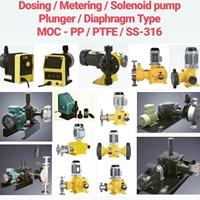 Metering Pump & Dosing Pump - PP/PVC/PVDF/PTFE/SS-316