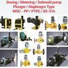 Solenoid Diaphragm Pump - PP/PVC/PVDF/PTFE/SS-316 1