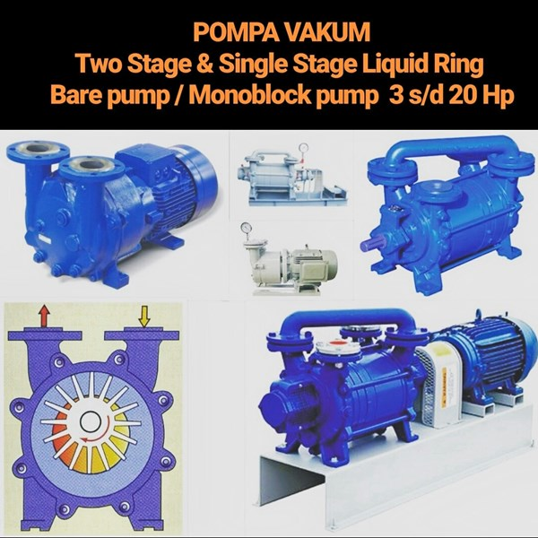 Pompa Vakum - Single Stage & Two Stage