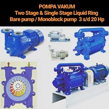 Vacuum Pump Liquid Ring - Single Stage & Two Stage