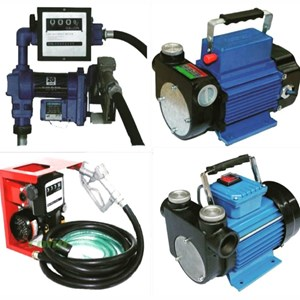 Pompa Rotary Vane & Fuel Dispenser Solar/Bensin - AC 220V & DC 12V