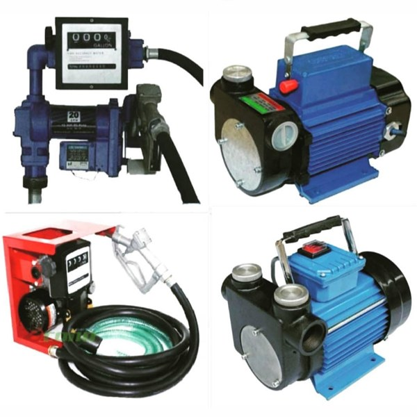 Rotary Vane Pump & Fuel Dispenser Solar/Bensin - AC 220V & DC 12V