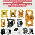 Pneumatic Pump - Aluminium & Stainless Steel 1