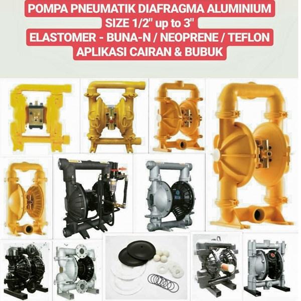 Pneumatic Pump - Aluminium & Stainless Steel