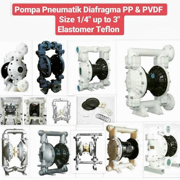 Pneumatic Pump - Polypropylene & PVDF
