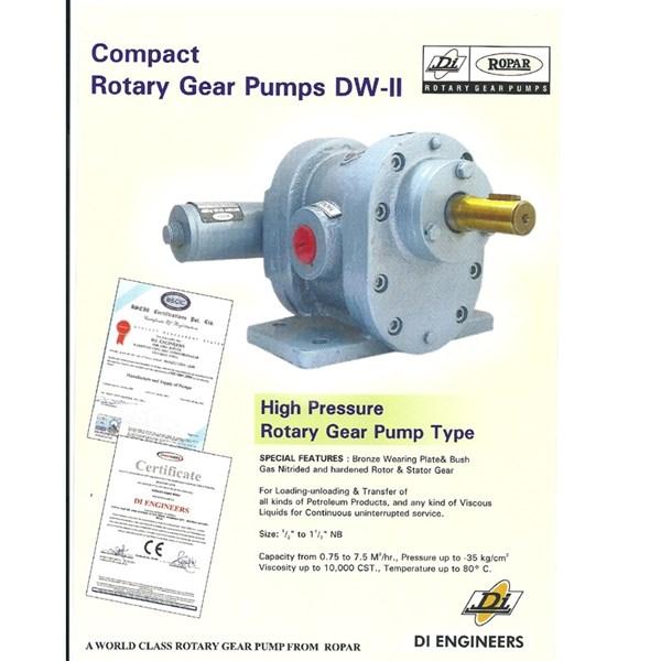 Gear Pump Ropar DW-II