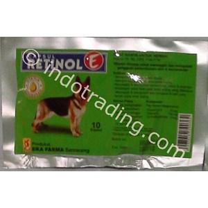 Obat Otot Dan Kesuburan Anjing Retinol E