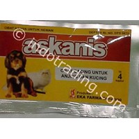 Obat Cacing Anak Anjing Askanis 1