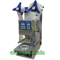 Mesin Cup Sealer Semi Auto