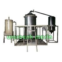 Jual Mesin Destilasi Sistem Boiler / Pemurnian Minyak
