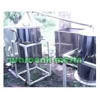 Distributor Mesin Destilasi Sistem Boiler / Pemurnian Minyak 3