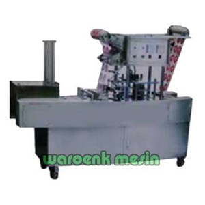 Mesin Cup Sealer Full Automatis