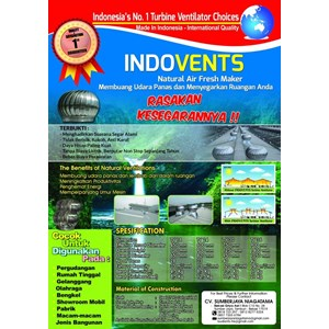 Turbin Ventilator Indovents