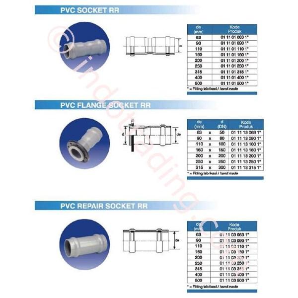 Fitting Pipa PVC