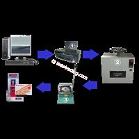 Paket Mesin Id Card Press 1