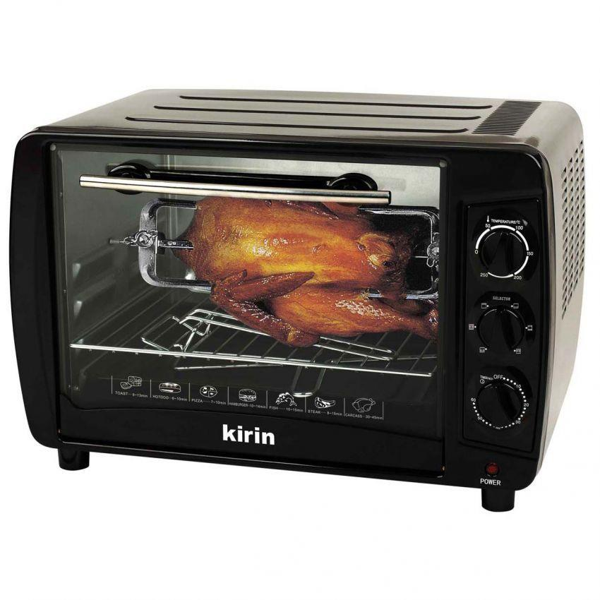 Jual Kirin Oven Elektrik 35 L Kbo 350ra Abu Abu Harga