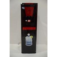 Denpoo Dispenser Galon bawah Seri Premium- Hitam Merah 1