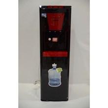 Denpoo Dispenser Galon bawah Seri Premium- Hitam Merah