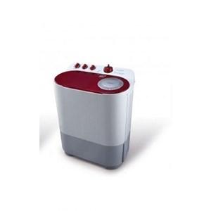 Mesin Cuci Sharp EST77DA - Merah