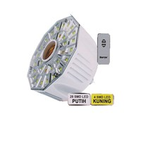 Surya Lampu Emergency 32 SMD LED FITTING E-27 dilengkapi Remote Control SRE L3208 RC 1