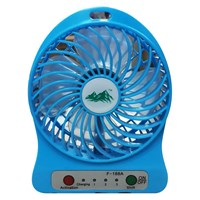 USB Mini Fan Kipas Angin Rechargeable F 188