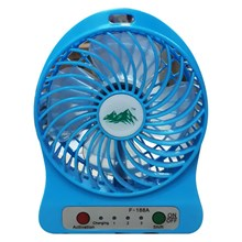 USB Mini Fan Fan Rechargeable F 188 Strong Wind