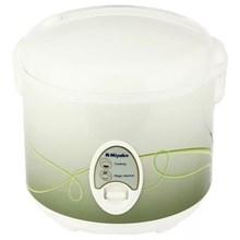 Miyako Rice Cooker MCM-508 - 1.8 L - Penanak Nasi - Putih-Hijau