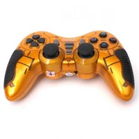 Jual M-TECH Game Pad 2.4G Wireless - Gold