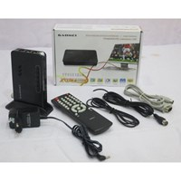 Gadmei TV Tuner 5821New - Hitam 1