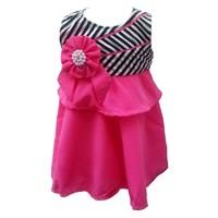 Jual Dress 1776 Salur Amigo Pink-3