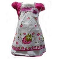 Jual Two Mix 1667 Dress Strawberry Pink 4