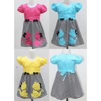 Jual Two Mix Dress Salur 2 Kucing 1969