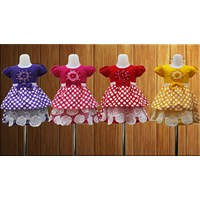 Baju Anak Broklat Mawar art 2001 size 1-3
