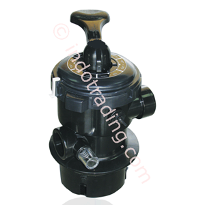 Top Mount Valve 2 Inch 6 Way With Turn-Lock Lid