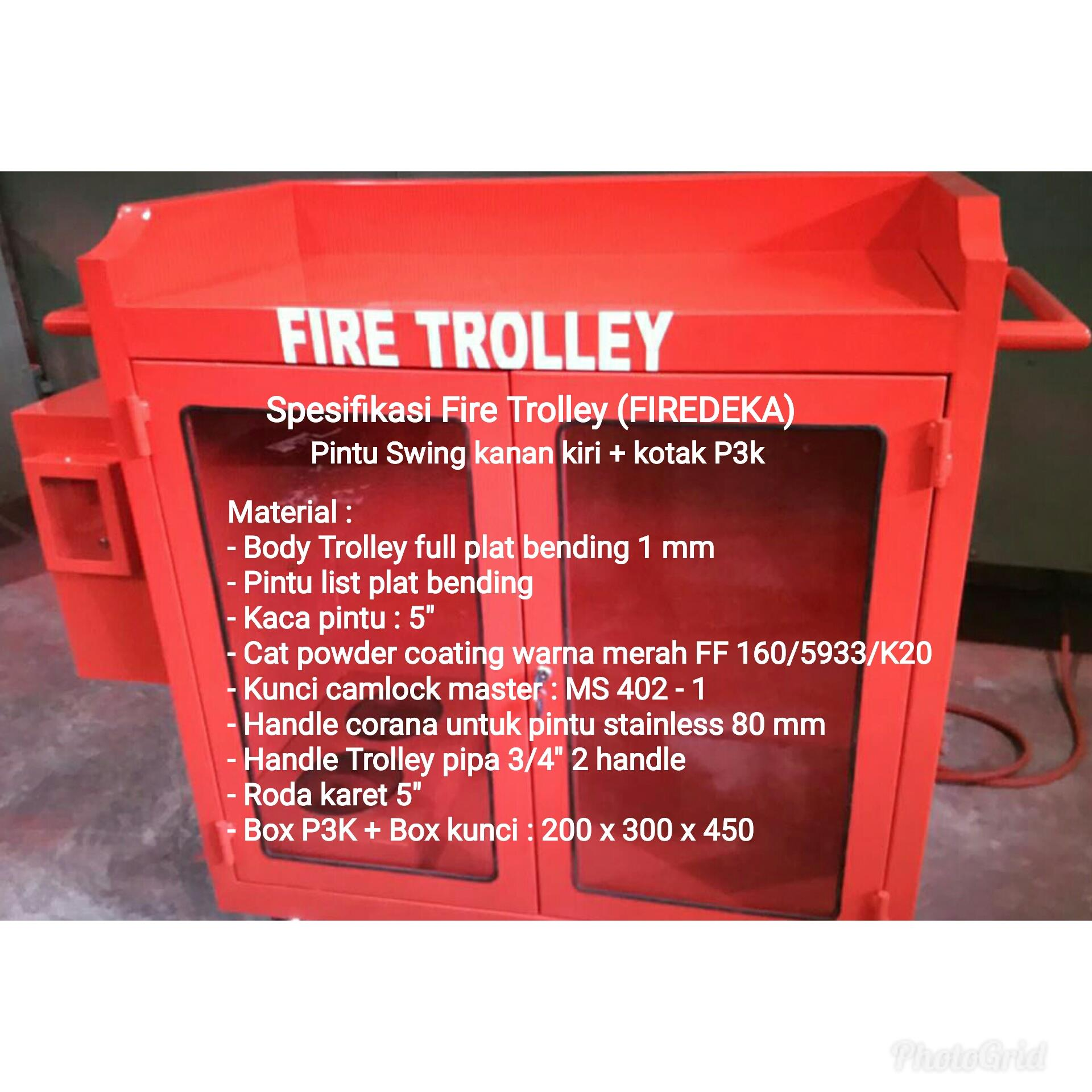 Sell Fire Trolley From Indonesia By Pt Wita Kharisma Jaya