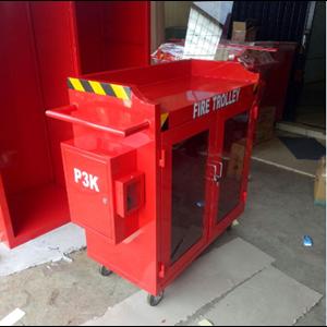 Fire Trolley Deka Fire Complite Box P3K