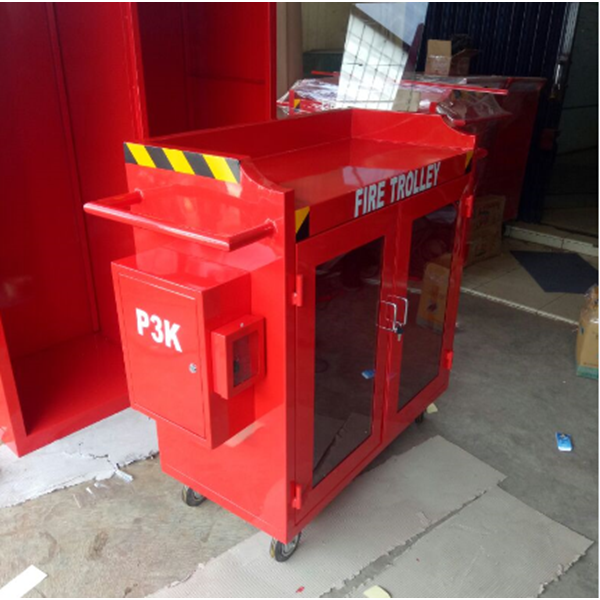 Fire Trolley Deka Fire Complite Box P3K