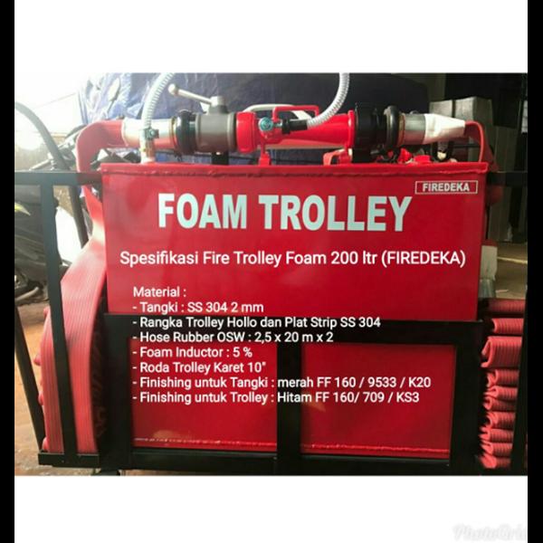 Foam Trollye Firedeka Stainless 200 L