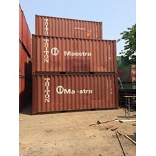 Box Container Dry 20 Feet
