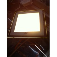 Lampu Led Downlight Hiled 12 Watt Dengan List Kaca 1
