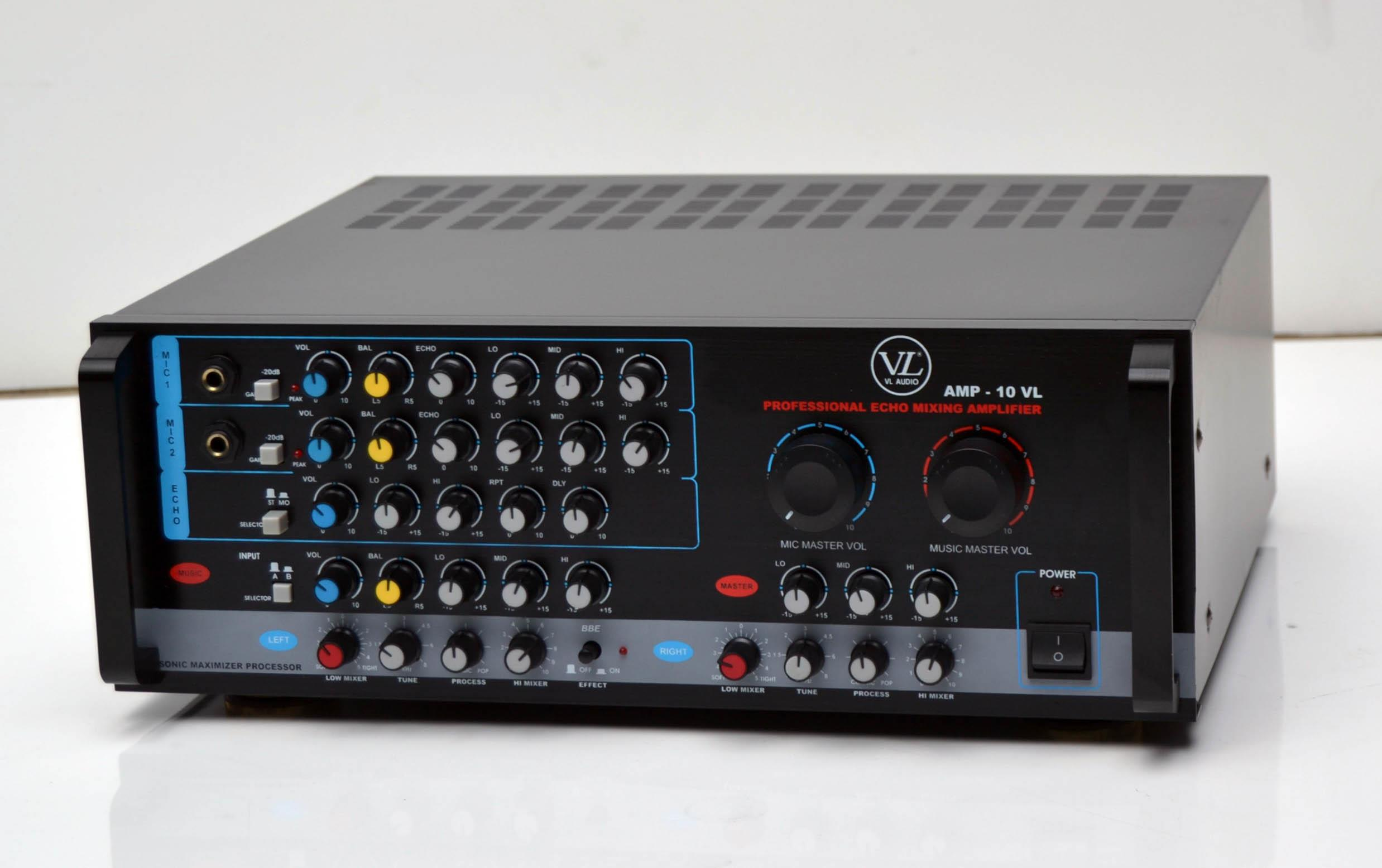 Jual Star Audio Vl Audio Amp 10 Amplifier Karaoke Harga